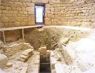Tzanata, interior of the mycenean vaulted tomb (1350-1100 BC) TZANATA (Settlement) KEFALLONIA